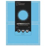 Astrobrights Foil Enhanced Certificates, 8.5 x 11, Lunar Blue/Silver Foil, 2/Sheet, 15Sh/Pk