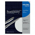 Wausau Papers Recycled Business Paper, 8 1/2x11, 24 lb., Gray, 500 Sheets/Box
