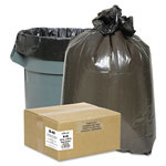 "Webster Webster Classic Black Trash Bags, 10 Gallon, 0.6 Mil, 24"" x 23"", Case of 500"
