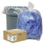 "Webster Webster Classic Clear Trash Bags, 10 Gallon, 0.6 Mil, 24"" x 23"", Case of 500"