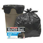 Webster Super Value Pack Trash Bags, 30gal, .69mil, 36 x 29.5, Black, 60/Box