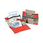 "WPC Brands Backpacker First Aid Kit, 4"" x 7"" x 1"""