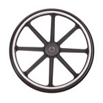 Medline Wheel, Rear, Assembly, 16-18In, Qr