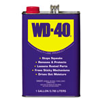 WD-40 Heavy-Duty Lubricant, 1 Gallon Can, 4/Carton