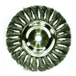 "Weiler 8"" KNOTTED WIRE WHEEL 3/4 ARB"