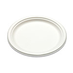 "Bridge-Gate 10"" White Sugarcane Plate"