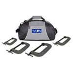 Wilton 4 Piece Wilton 540A Series C-Clamp Kit With Duffle Bag
