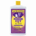 RJ Star Finish Cut No Swirl Compound, 32 oz Bottle, Brightens Dull Finishes