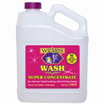 RJ Star Wizards Wash Super Concentrate Car Wash, 1 Gallon Bottle, High Sudsing, Neutral PH