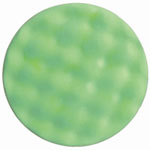 "RJ Star Foam Light Cut/Polish Buffing Pad, 7.5"" Diameter, Green Polyester"