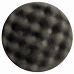 "RJ Star Foam Finishing Buffing Pad, 7.5"" Diameter, Gray Polyester"
