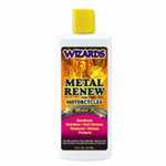 RJ Star Metal Renew Liquid Polish, 8 oz Bottle, for All Metals, Fast Cut, High Gloss