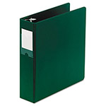 "Wilson Jones 40% Recycled No Gap Locking D-Ring Binder, 2"" Capacity, Green"