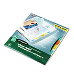 Wilson Jones View Tab® Index Tabs, Multicolor