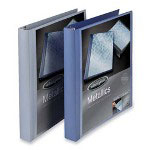 "Wilson Jones Flexible Poly Ring Binder, 1/2"", Blue"