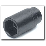 "Wilmar 35mm Axle Nut Socket, 1/2"" Drive, Extra Deep, 6 Point"