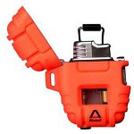 Windmill Delta Shockproof Lighter, Blazed Orange