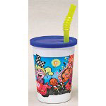 WNA Comet 12 Oz Cold Plastic Cups, Kids Design, Case of 250