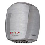 World Dryer Airforce Hand Dryer, Stainless Steel, Brushed