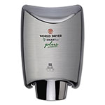 World Dryer SMARTdri Hand Dryer Plus, Stainless Steel, Brushed