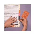 Ames Color File EasiFlag, 3/16 x 1, 13 Solid Color Assortment, 1040/Box