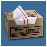 Chicopee Chix Food Service Towels, White 13 x 24
