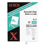 Xerox Laser Transparency Film With Removable Stripe, 100 Sheets/Box
