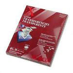 "Xerox Clear Transparencies, 8-1/2"" x 11"", 100/BX"
