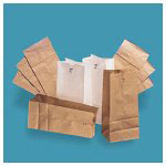 Duro Paper Grocery Bags, 1#, Natural