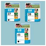 HP 17 Inkjet CartridClam Pack, Black