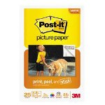 Post-it® Post it® 4 x 6 Picture Paper, Matte Finish, 65 Sheets/Pack