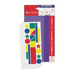 At-A-Glance Laminated Wall Planner Accessories, Static Cling Vinyl, Pack Of 224