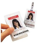 Avery Photo ID Labels for Access Control Cards, Permanent, 500 per Box
