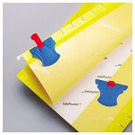 Pendaflex Index Tabs, Blue/Red