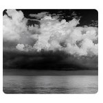Fellowes Stormy Sky Optical Mouse Pad, Non Slip Backing, Slim Profile
