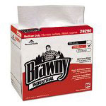 Brawny Airlaid Dusting Cloths, White, Box of 66