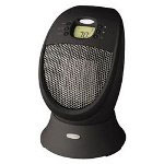 Kaz SureSet Digital Oscillating Ceramic Heater, Black
