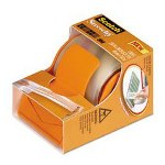 "Scotch Scotch Scotch Stretchy Tape, Refillable Dispenser, 1.88"" x 8.33 yds"
