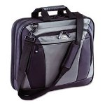 Targus  CVR400 CityLite Notebook Case, 15 3/4w x 4d x 13 3/4h, Black/Gray