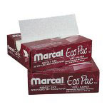 "Marcal Eco-Pac Natural Interfolded Dry Wax Paper, 8"" x 10.75"", 500/Box, 12 Boxes/Carton"
