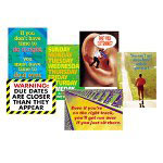 Trend Enterprises ARGUS Large Poster Combo Pack, Schoolwork