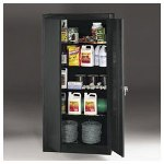 "Tennsco Ready to Assemble Storage Cabinet, 72""-High, 36"" x 24"", Putty"