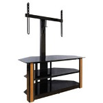Bell'O Triple Play AV Stand, Black