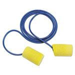E·A·R E·A·R Classic Earplugs, Corded, PVC Foam, Yellow, 200 Pairs