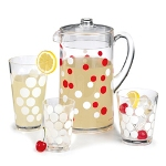 Dot Dot White Tumbler Set by Zak!