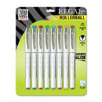 Zebra Pen Regal Roller Rollerball Pen, Arrow Tip, .7mm, 8/PK, Assorted