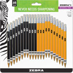 Zebra Pen #2 Mechanical Pencil, 14 Yellow/14 Black, 28/Pack