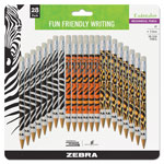 Zebra Pen Cadoozles Mechanical Pencil, Refillable, #2, Assorted Barrels, 0.7 mm, 28/Pack