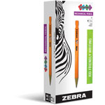 Zebra Pen Cadoozles Starter Mechanical Pencil w/o Eraser, 2.0 mm, Yellow Barrel, Dozen