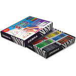 Zebra Beginners Mechanical Pencils, No.2, 2mm, 192Pcs, Assorted